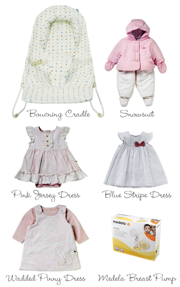 Picture of 6 Mothercare Products